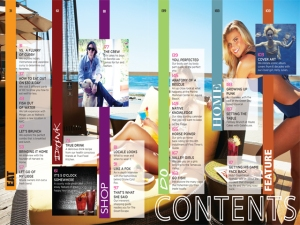 tabel of contents 3